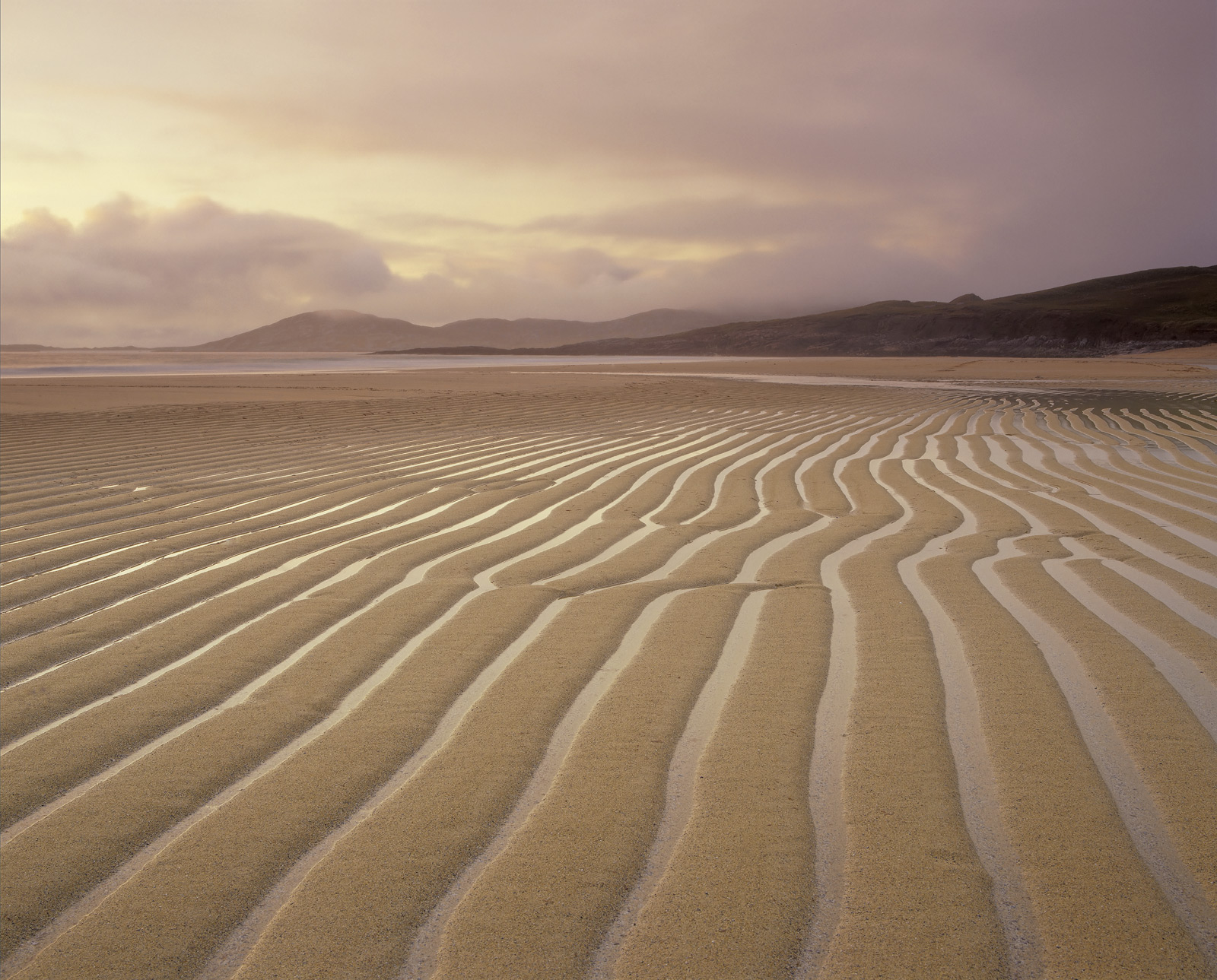 At the end of a late Spring evening I noticed some very highly defined lines etched on to the beach at Traigh Lar.  They...