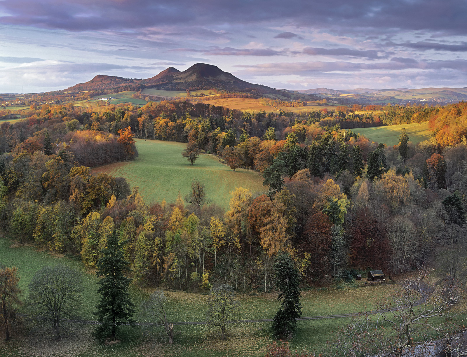 Scotts View is one of the most iconic views around the historic town of Melrose. The Tweed one of the finest salmon fishing...