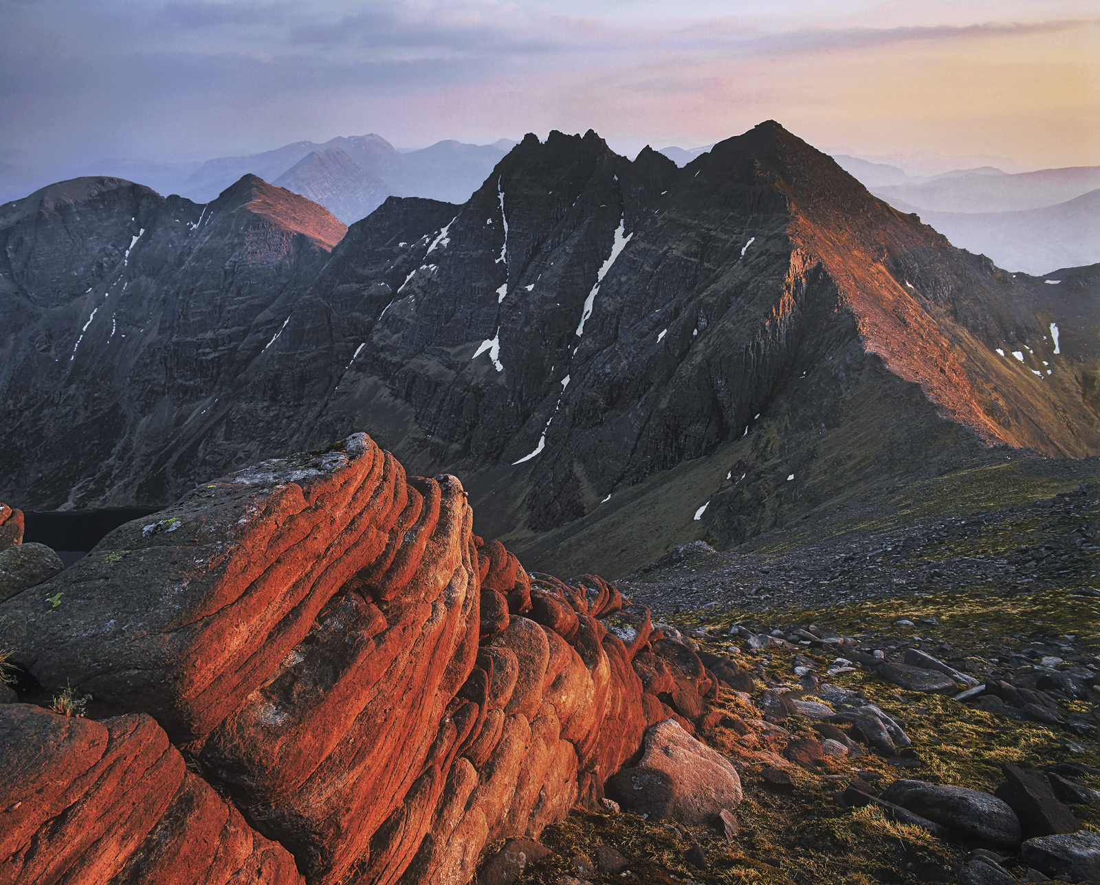 With out a doubt the most breathtaking ridge walk in Scotland. The climb up to the summit is actually quite dull but the...