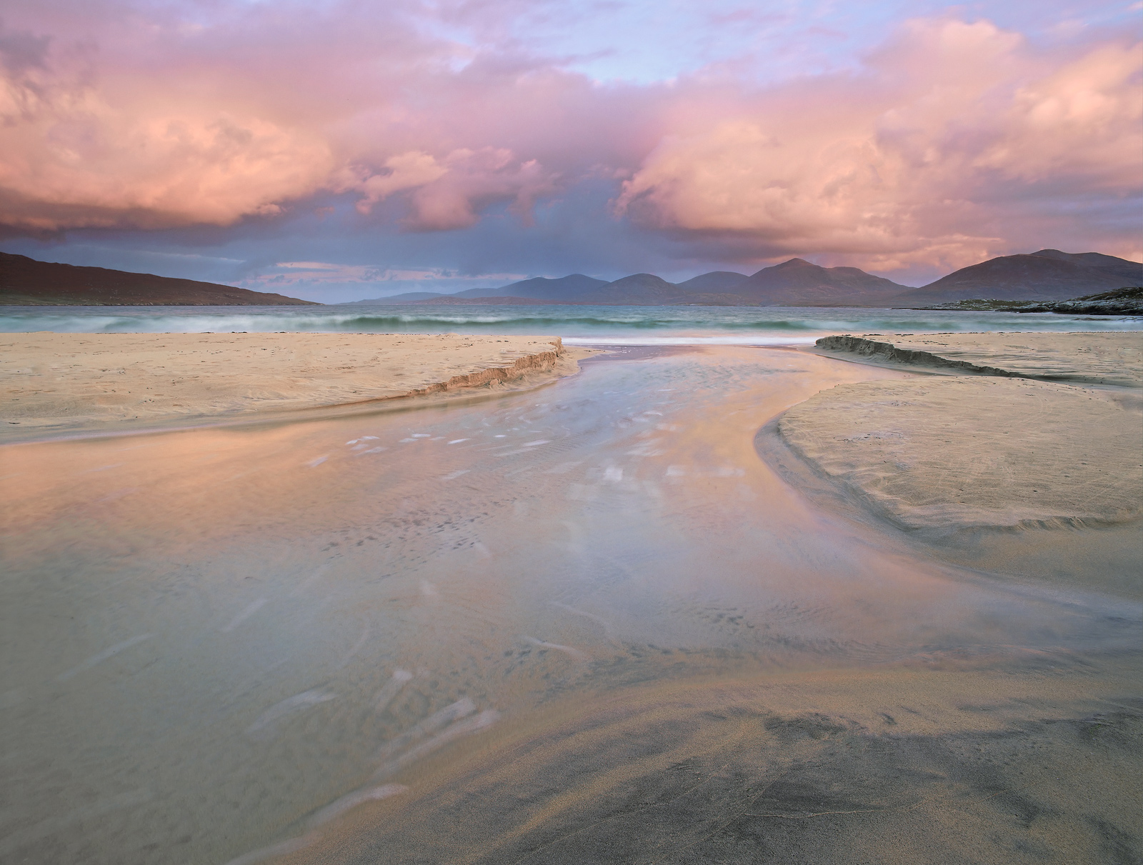 The west coast of Harris is probably not on the face of it a great location for a sunrise but of course in the right circumstances...