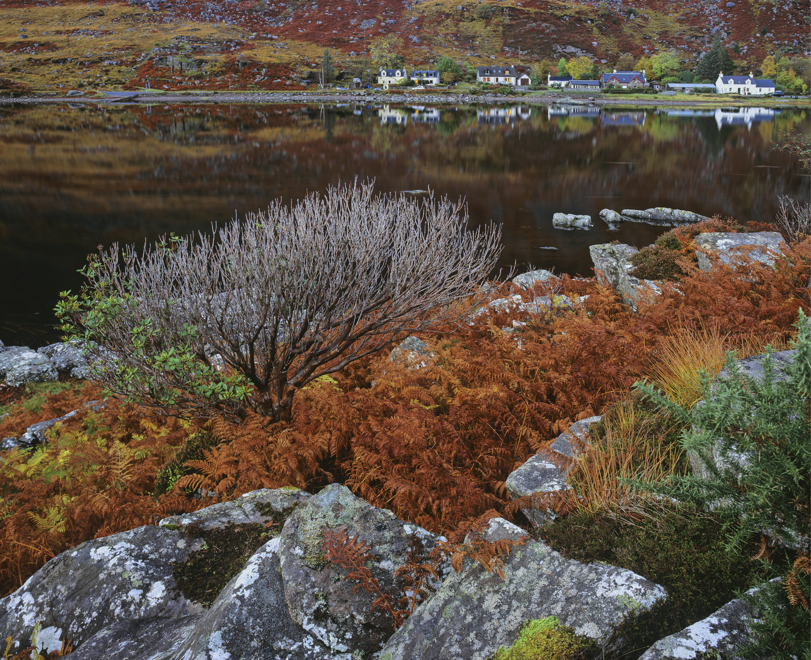 The little village of Torridon is nestled below some of the most majestic of Scottish peaks the slopes dwarfing the string of...