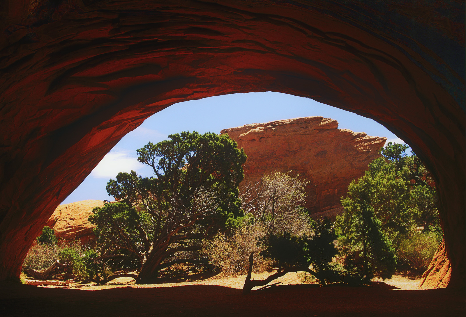 This was taken in 1997 whilst I was travelling the world for the best part of two years. I came across this huge arch in...