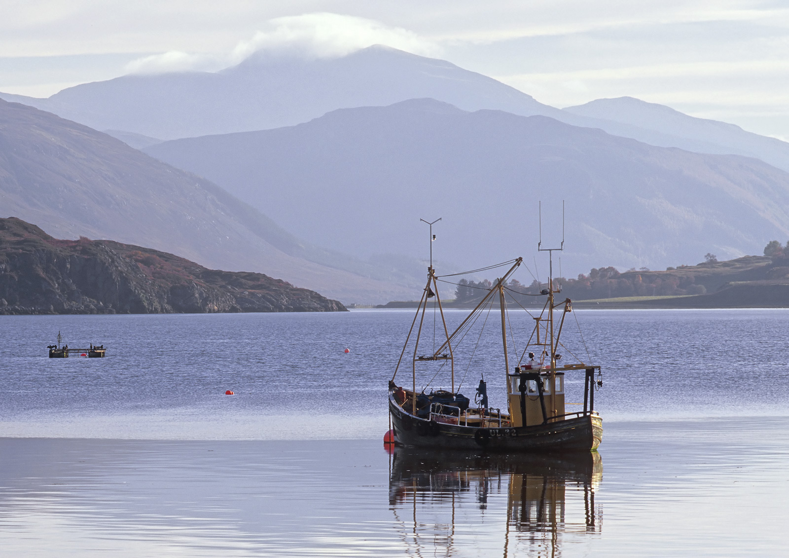 Ullapool is a delightful highland town and is the gateway to the Western isles of Lewis and Harris. A few very picturesque...