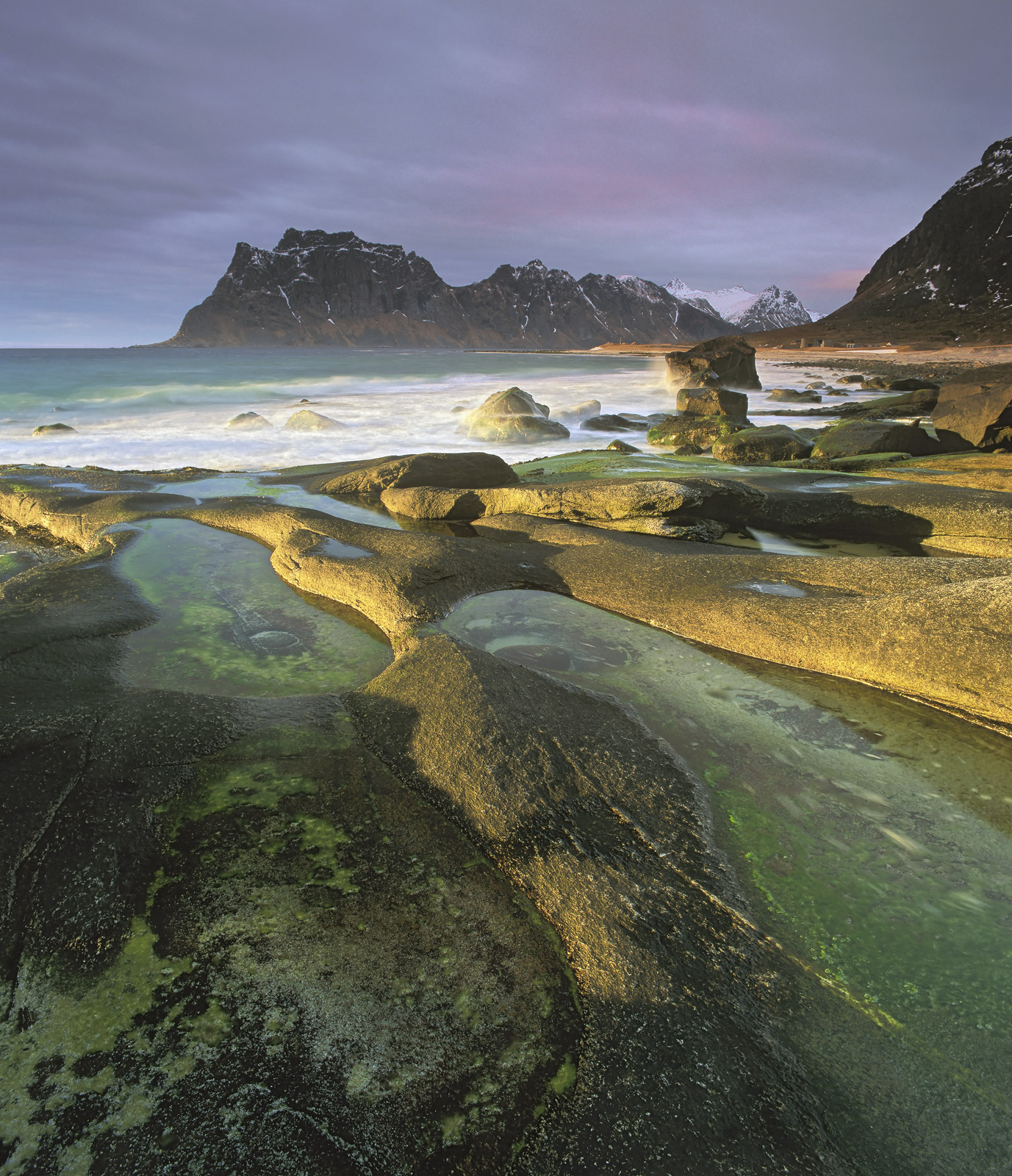 Uttakliev is Lofoten's answer to the Isle of Skye's Elgol and has similar popularity especially for landscape photographers.&...