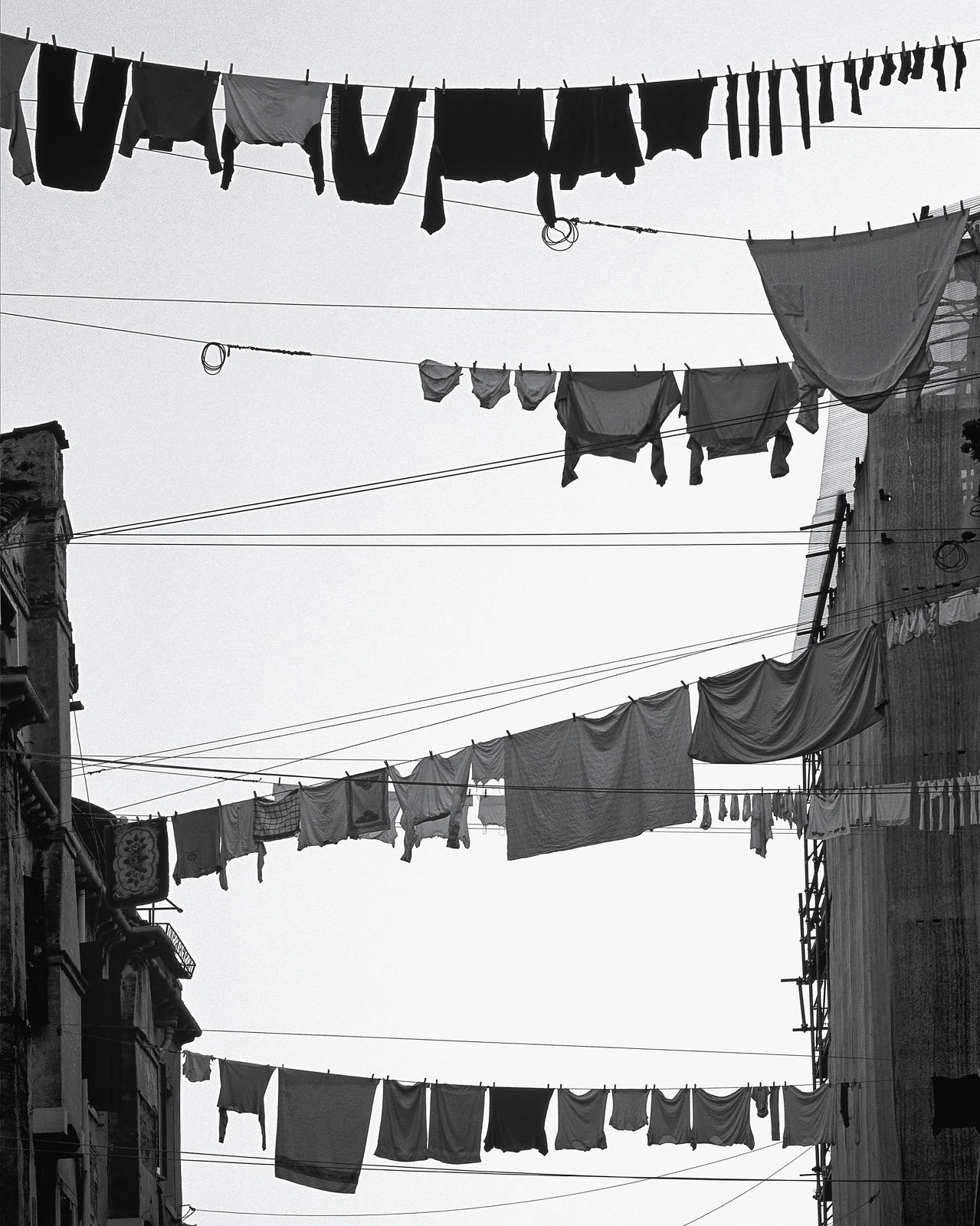 Mondays are washday in Burano and every household seems to string out their immaculately manicured and scrubbed washing across...
